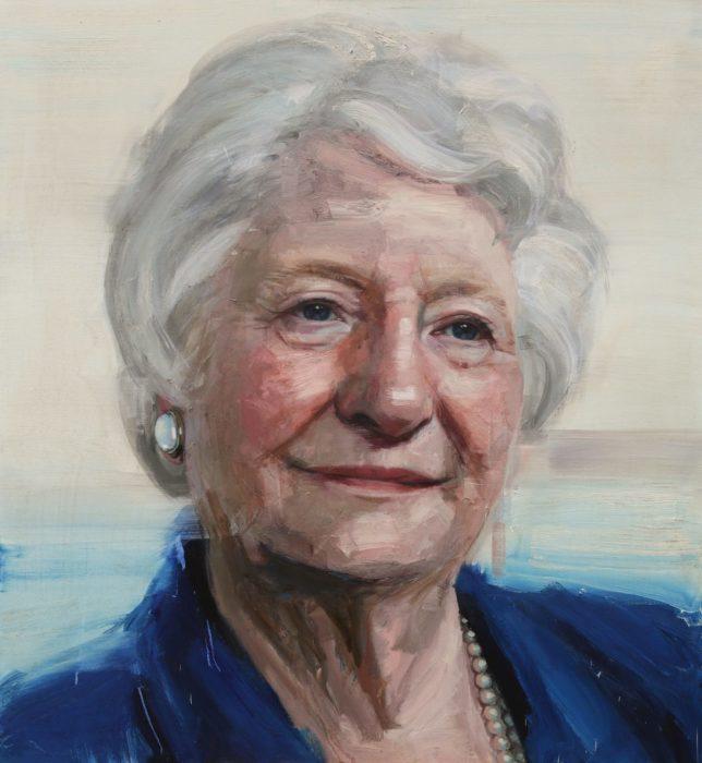 Дама Мэри Питерс. Автор: Colin Davidson.