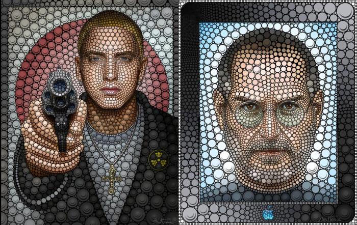 Потрясающие цифровые портреты. \ Фото: graphicart-news.com.