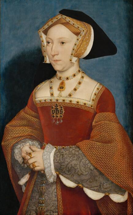 Портрет Джейн Сеймур, королевы Англии. \ Фото: all-saints-benhilton-cofe-primary-school.j2webby.com.