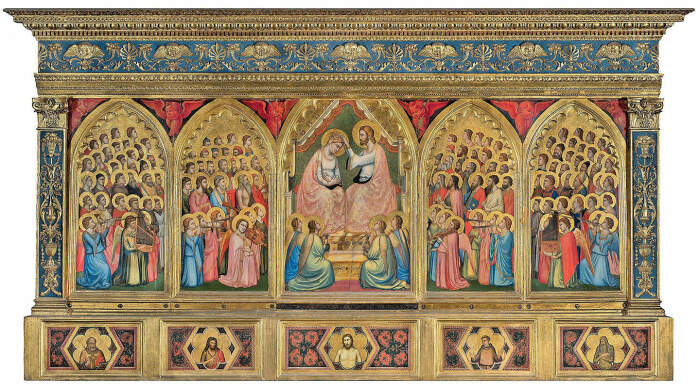 Полиптих Барончелли, Джотто ди Бондоне, 1330 год. \ Фото: geva-attilio.com.