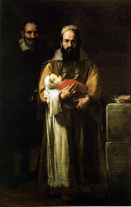 Магдалена Вентура с мужем и сыном, 1631 год. \ Фото: xsierrav.blogspot.com.
