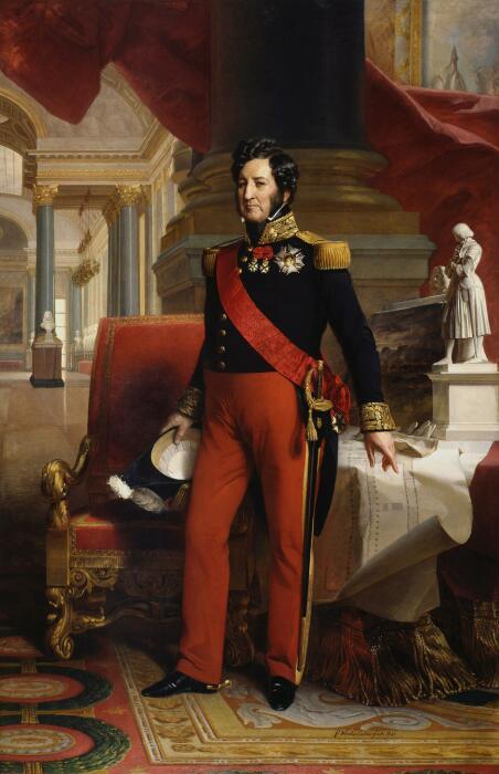 Луи-Филипп I Бурбонский, король Франции. \ Фото: reddit.com.