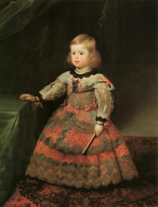 Портрет инфанты Маргариты в розовом платье. \ Фото: it.m.wikipedia.org.
