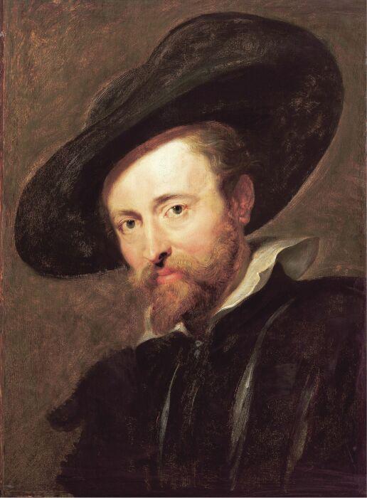 Питер Пауль Рубенс, Автопортрет (1623 год). \ Фото: pinterest.it.