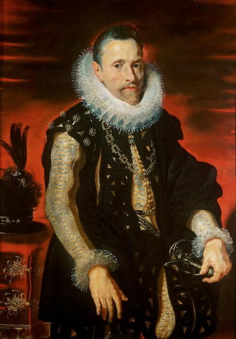 Альбрехт VII Австрийский штатгальтер Испанских Нидерландов, 1609 год. \ Фото: eclecticlight.co.
