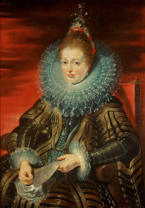 Изабелла Клара Евгения, 1609 год. \ Фото: tuttartpitturasculturapoesiamusica.com.