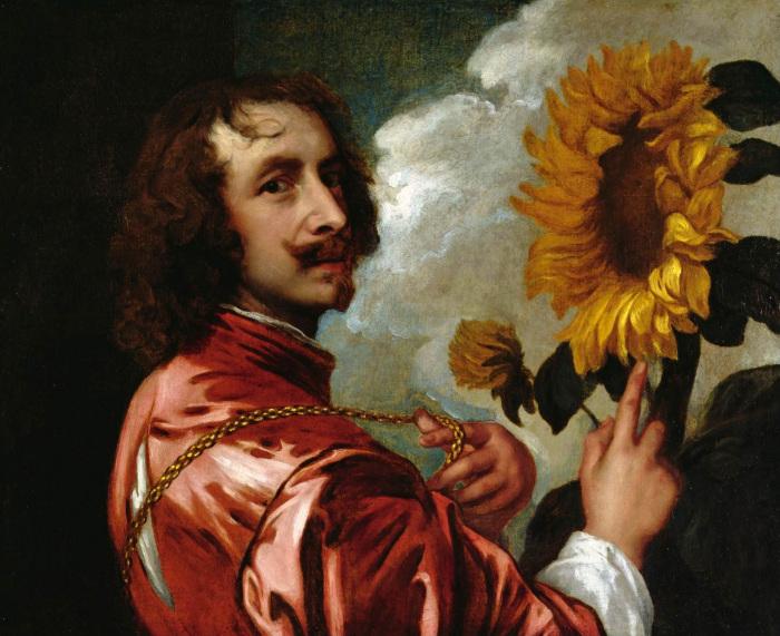 Ван Дейк, Автопортрет,  1634 год. \ Фото: unjourunhomme.com.
