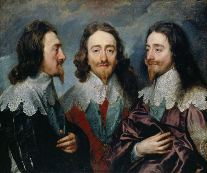 Тройной портрет Карла I, короля Англии, 1635-1636 гг. \ Фото: pinterest.com.