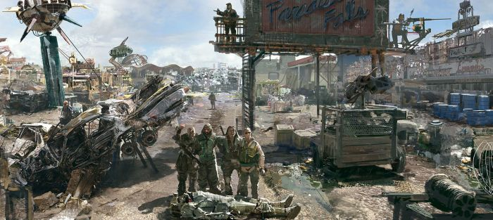 Игра «Fallout 3: Большой Город». Автор: Craig Mullins.