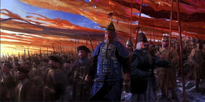 Игра «Эпоха империй III». Автор: Craig Mullins.