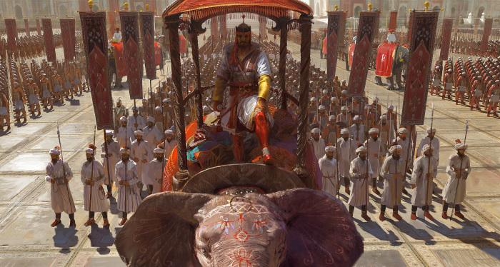«Эпоха империй III», Индия. Автор: Craig Mullins.