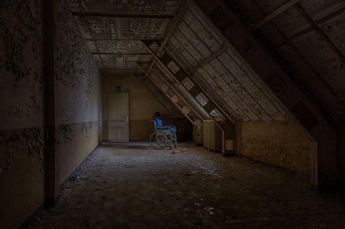 Старый коридор. Фото: Vacant Photography.
