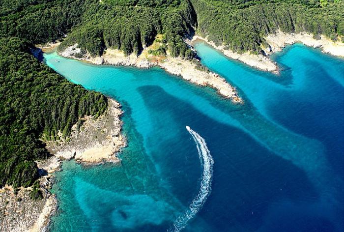 Остров Раб. Хорватия.