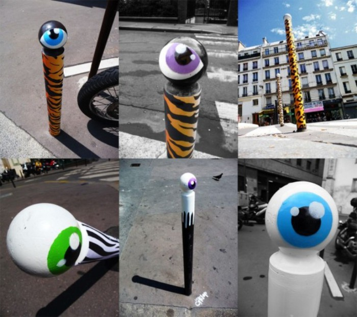 Городские глаза. Автор:  CyKlope.