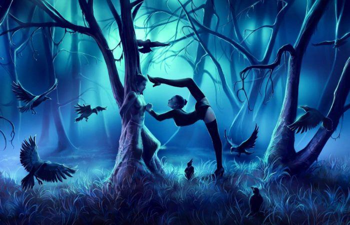 Танцы зодиака: ноябрь. Автор: Cyril Rolando.