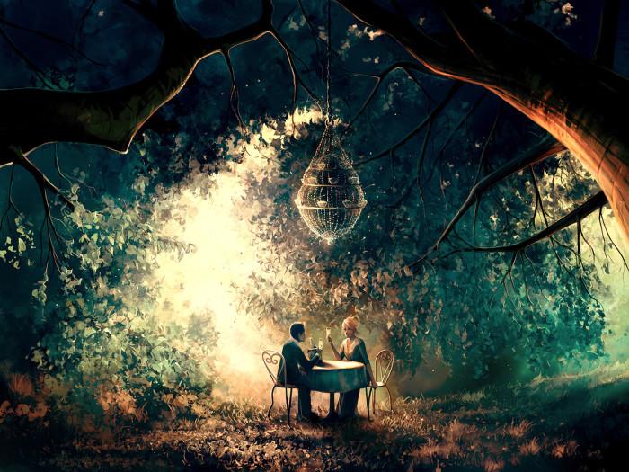 Медовый месяц. Автор: Cyril Rolando.
