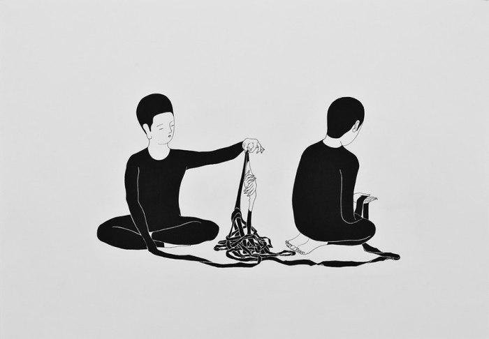 Запутанные отношения. Автор работ: Даехюн Ким (Daehyun Kim).