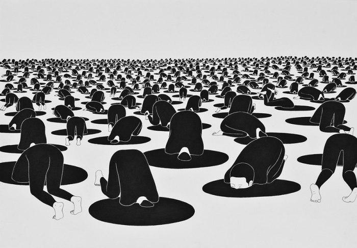Бессонные дни. Автор работ: Даехюн Ким (Daehyun Kim).