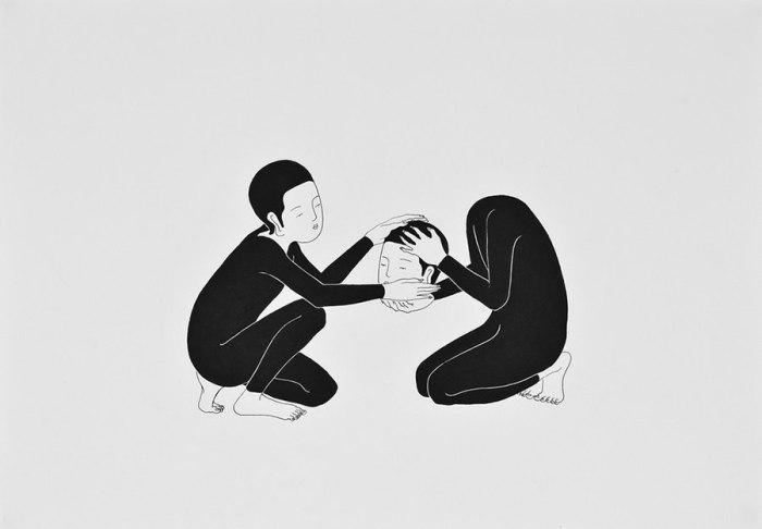 Пожалуйста, позаботься об этом. Автор работ: Даехюн Ким (Daehyun Kim).