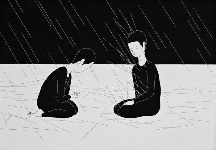 Расплата. Автор работ: Даехюн Ким (Daehyun Kim).
