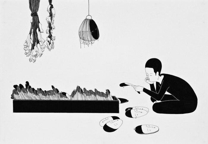 Хранилище тебя. Автор работ: Даехюн Ким (Daehyun Kim).