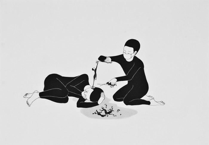 Спасение. Автор работ: Даехюн Ким (Daehyun Kim).