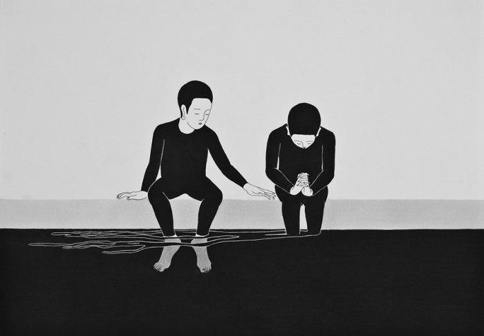 Хочу стать другим, таким, каким ещё не был. Автор работ: Даехюн Ким (Daehyun Kim).