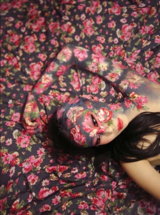 Цветочные мотивы. Автор: Dain Yoon.