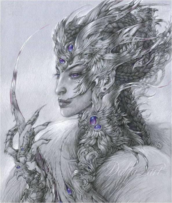 Аметист. Эльфик (Ametyst. Elf). Волшебные работы Ольги Исаевой (Olga Isaeva).
