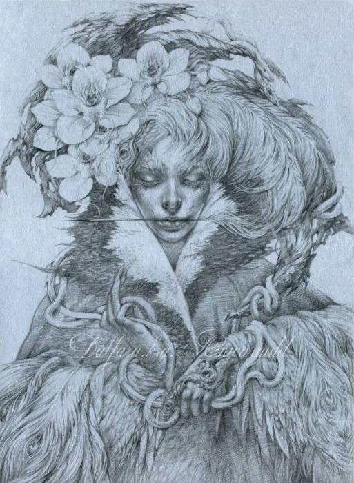 Волшебные работы Ольги Исаевой (Olga Isaeva).