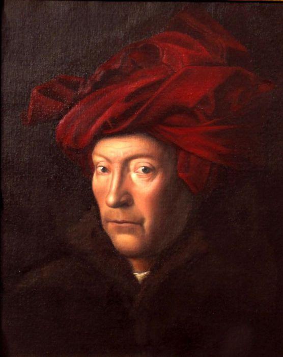 Портрет в стиле флорентийской живописи. Автор: Damir May.