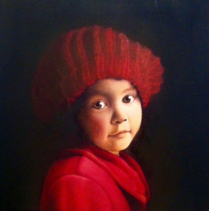 Портрет ребёнка. Автор: Damir May.