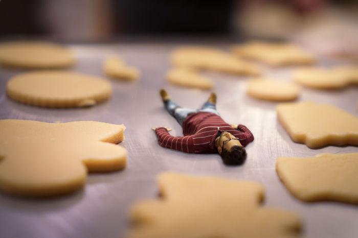В лабиринте печенья. Сюрреалистические работы от фотографа Дэн Кинг (Dan King).