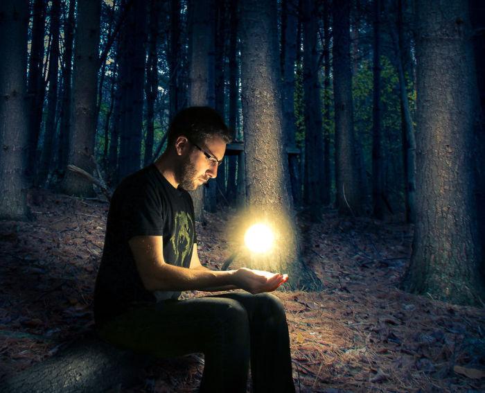 Таинственный свет. Сюрреалистические работы от фотографа Дэн Кинг (Dan King).