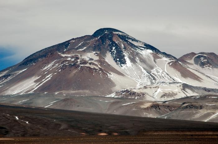 Гора Охос дель Саладо.