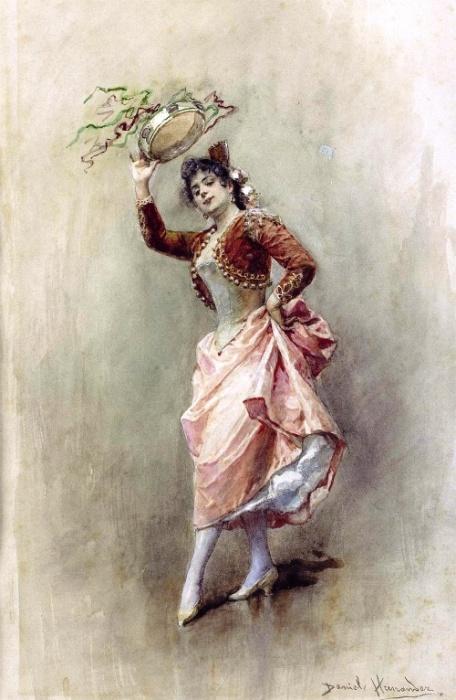 Танец с бубном. Автор: Daniel Hernandez Morillo.