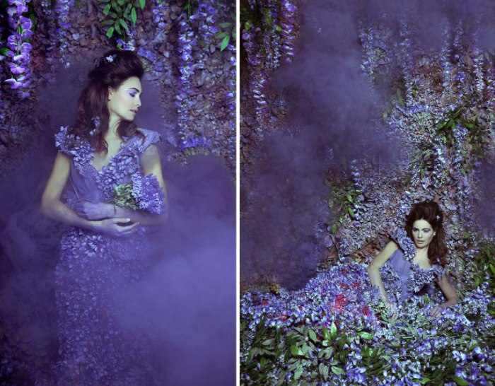 Волшебный сад. Принцесса Вистерия. Фото Daniela Maji.