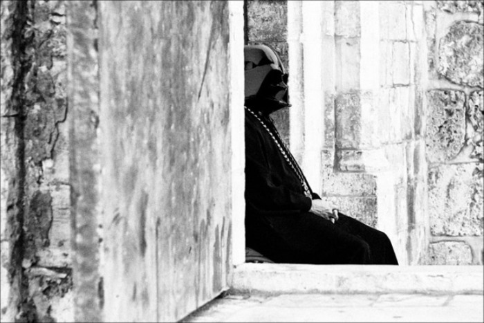 Одиночество. Дарт Вейдер. Фотоманипуляции от Данила Полевого (Danil Polevoy).