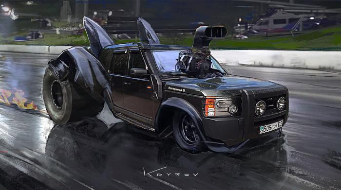 Land Rover. Автор: Данияр Кдыров.