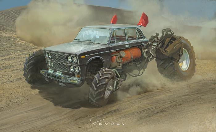 ВАЗ - 2106. Автор: Данияр Кдыров.