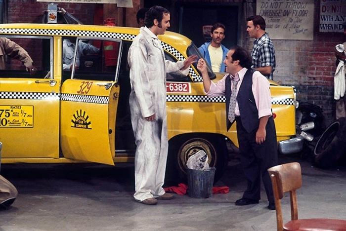 Кадр из сериала: Такси.