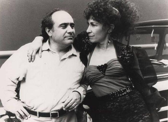 Де Вито и его жена, Рея Перлман.