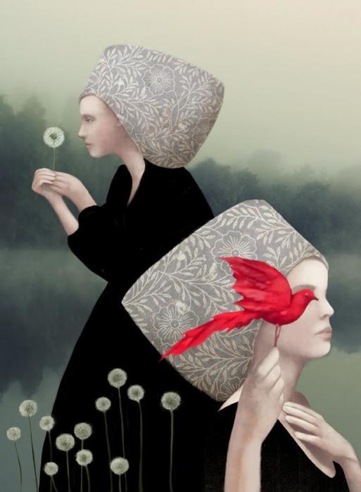Одуванчики. Автор: Daria Petrilli.