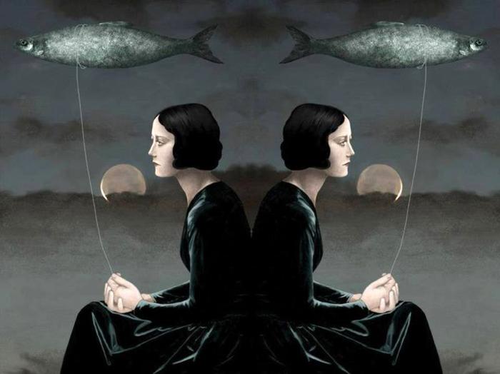 Запуская рыб. Автор: Daria Petrilli.