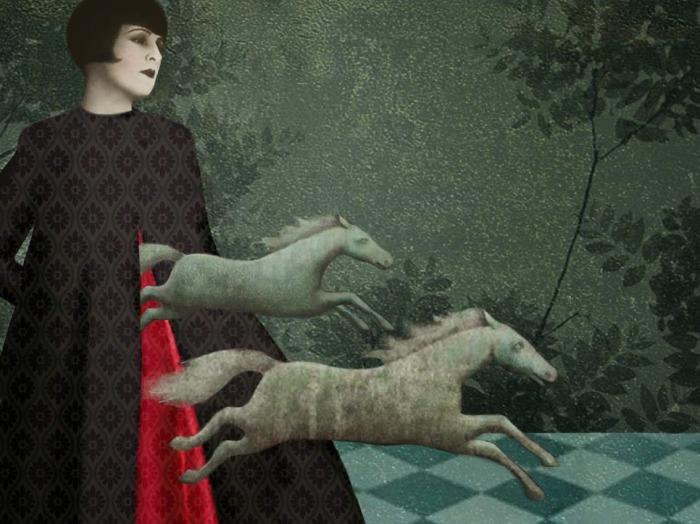 Поток мыслей и фантазий. Автор: Daria Petrilli.