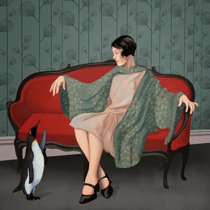 Причудливо-сюрреалистические женские образы на неоднозначных картинах со смыслом