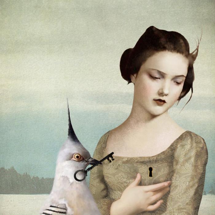 Замочная скважина. Автор: Daria Petrilli.