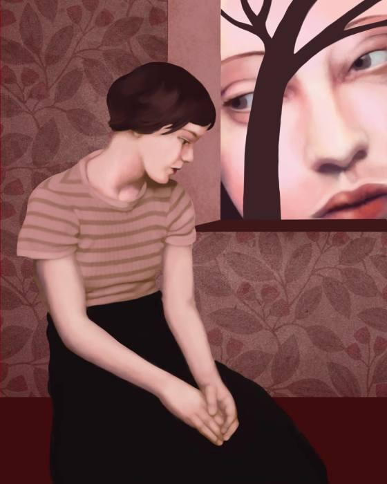 Наблюдая со стороны. Автор: Daria Petrilli.