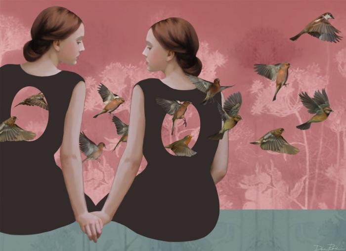 Птицы ввысь. Автор: Daria Petrilli.