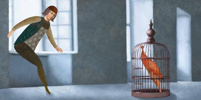 Клетка. Автор: Daria Petrilli.